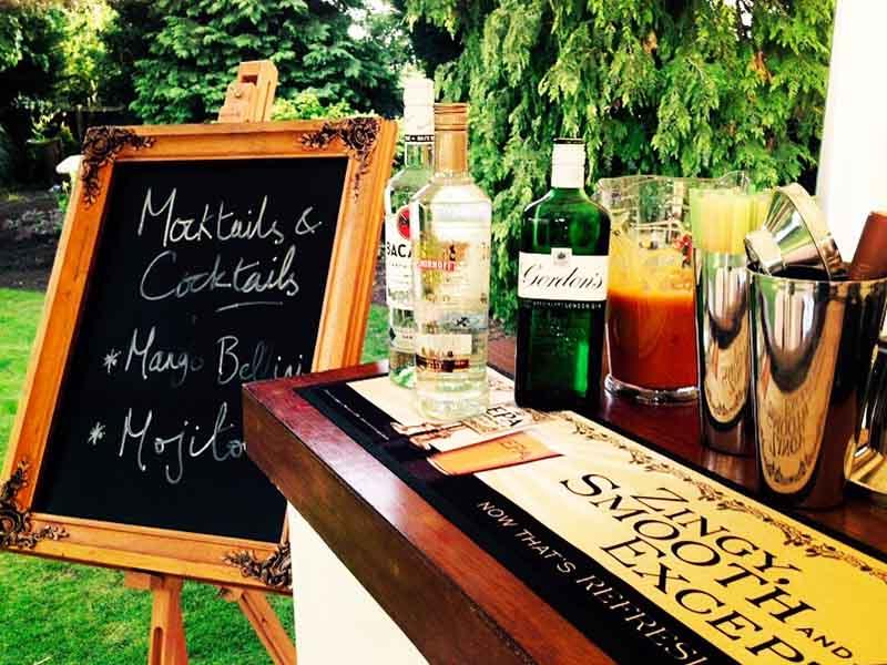 27. Mocktail Sign